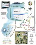 Trail Map for Alligator Lake Park