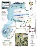 Map Of Lake City Florida.Recreation